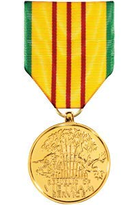 Medals of America Vietnam Service Medal Anodized