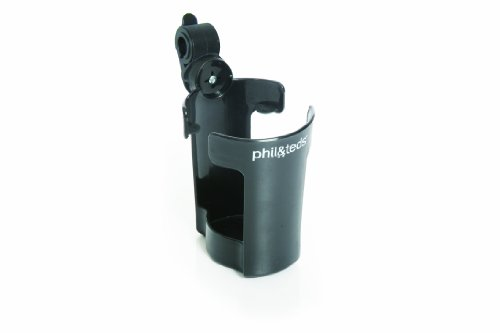 phil&teds Thirsty Works Cup Holder for Classic/Explorer Strollers, ()
