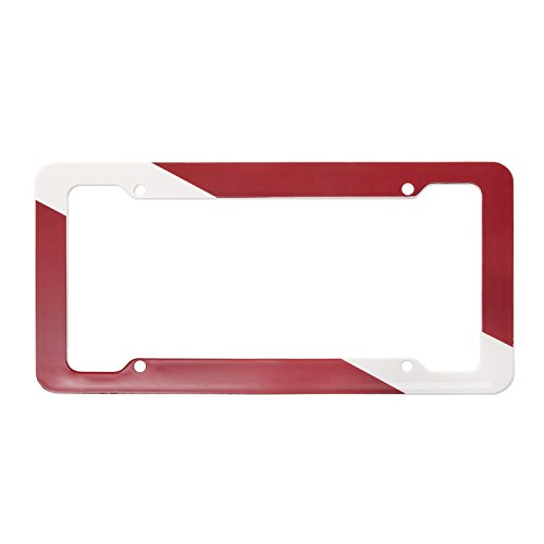 Trident Plastic License Plate Frame With Dive - Diva Frames