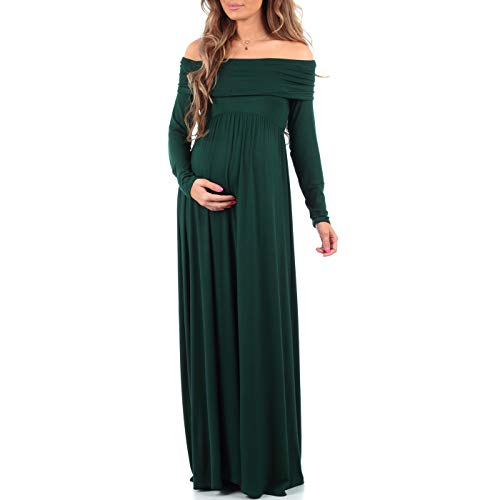 Womens Cowl Neck and Over The Shoulder Maternity Dress, used for sale  Delivered anywhere in USA