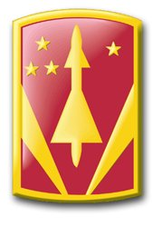 MilitaryBest United States Army 31st Air Defense Artillery Brigade Patch Decal Sticker 3.8
