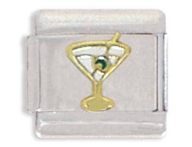 - Clearly Charming Martini Glass Italian Charm