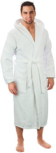 Hooded Terry Bathrobe Made Turkey product image