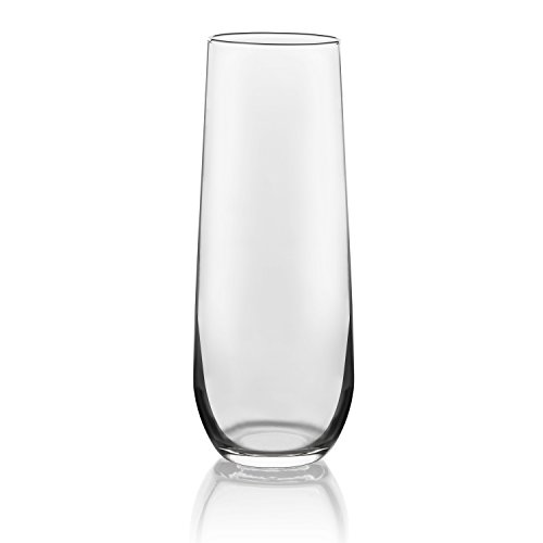 Libbey Stemless Champagne Flute Glasses, Set of 12 by Libbey (Image #1)