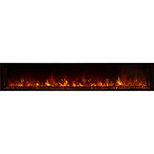 Cheap Modern Flames Landscape Fullview 80-inch Built-in Electric Fireplace - Lfv2-80/15-sh Black Friday & Cyber Monday 2019
