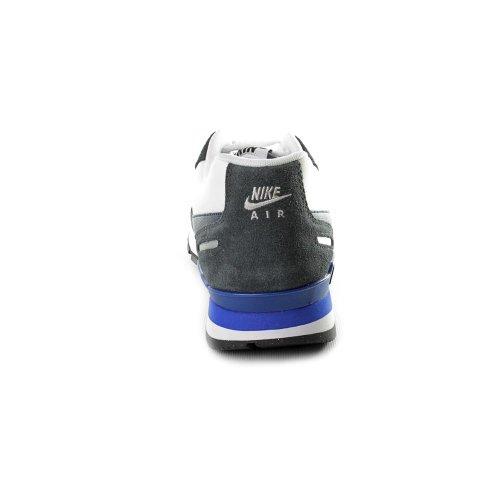 Nike Men's NIKE AIR WAFFLE TRAINER TRAINING SHOES 12 Men US (WHITE/OBSIDIAN/ANTHRCT/HYPER BLUE)