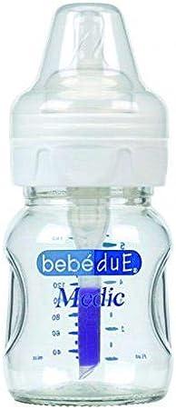Bebé Due 10096 - Biberón vidrio: Amazon.es: Bebé