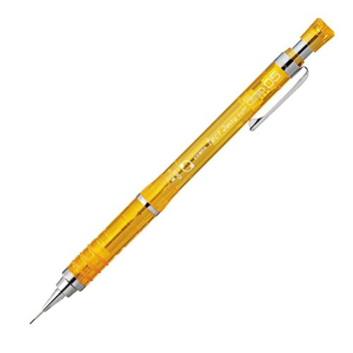 Zebra Mechanical Pencil, Tect 2 Way Light, 0.5mm, Yellow Body (MA42-YO)