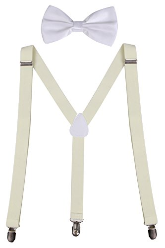 Sunny Ocean Bowtie Youth Suspenders product image