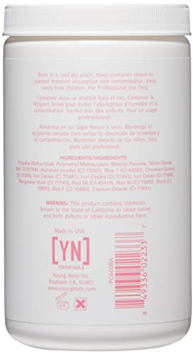 Amazon.com: Young Nails Acrylic Cover Powder, Bare, 660 Gram ...