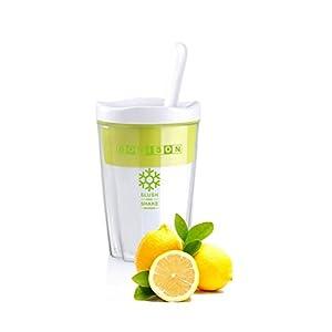 BONISON Refreshing, Cooling & Fun Milkshake Smoothie Slush & Shake Maker Cup Freeze, Stir & Go
