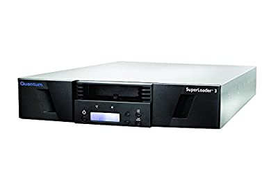Quantum SuperLoader 3, LTO-6HH Drive, Model C, Media and HBA Bundle, 16 slots, 6Gb/s SAS, rackmount, barcode reader by Quantum