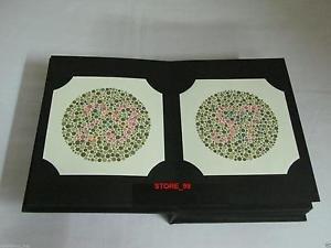 Tathastu Ishihara 14 Plates Vision Test Book Lab & Life Science from Tathastu