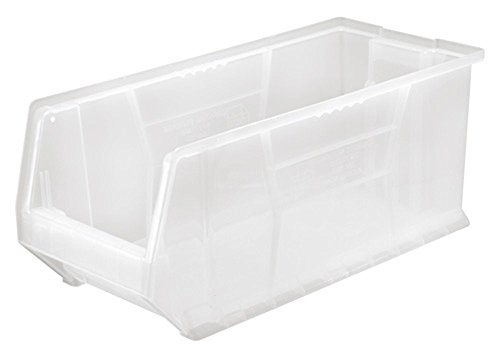 Dividers Container Hulk (Quantum Storage Systems K-QUS953CL-1 Plastic Storage Stacking Hulk Container, 24