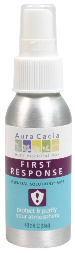 Aura Cacia Essential Solutions Mist First Response - 2 Oz