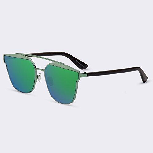 marco Gafas sol C06Green Eyewears Ponte objetivo de reflejado Doppio calidad C05Espejo mujeres lujo Gafas TIANLIANG04 de Señor 6fxwBxv