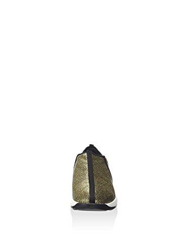 Guess FLLET4-LAC12 Slip On Femme Fibres Textiles Jaune 40