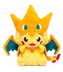 1 X Pikachu Limited Ver Stuffed Pokemon Center Mega Toukyo.