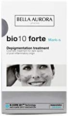 Bella Aurora Anti-Manchas Crema Facial para Manchas Oscuras de Post-Inflamatorio, Quita-Manchas Cara Piel, Despigmentante Facial, Bio 10 Forte, Blanco, 30 Mililitros