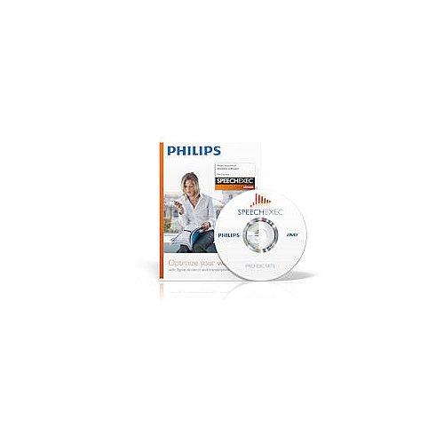 Philips LFH4400 SpeechExec Dictation Software (Headset Digital Voice Recorder)