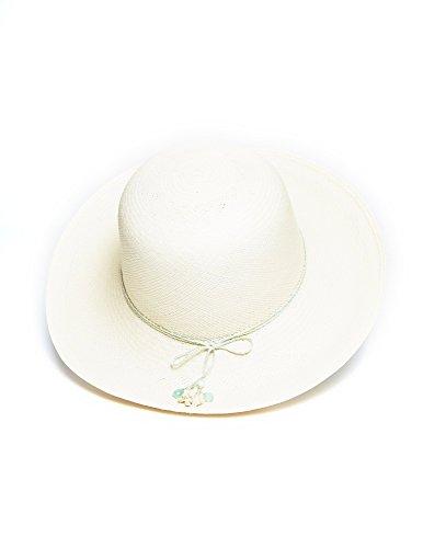 White Lanikai Panama Hat by Jasmin Noir