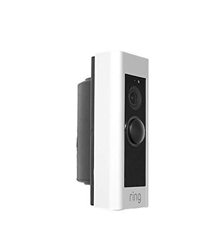 Doorbell NOT Included Adjustable Angle Wall mount for Ring 1 CloverTale 2 30-55 Degree Adjustable Corner Kit Angle Adapter and Nest Wi-Fi Enabled Video Doorbell