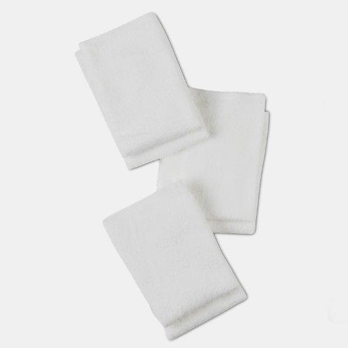 Gerber 6 comte gant de toilette, blanc