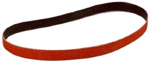 3M Cloth Belt 777F 80 Grit TM 18 Length x 1//8 Width Ceramic Aluminum Oxide Orange YF-Weight Pack of 200 18 Length x 1//8 Width