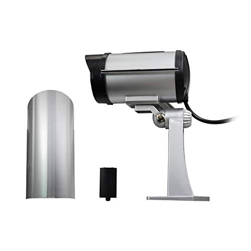 QLPP Fake Security Camera,CCTV Fake Dome Camera,Dummy Fake Security Camera,with 30 Illuminating LEDs, for House, Shopping Mall, Restaurant,4pack by QLPP (Image #3)
