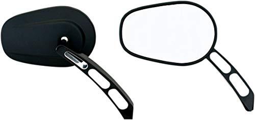 Rivco Products MV305 Billet Mirrors - Black