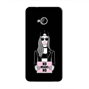 Cover It Up - No Means No One M7 Hard Case