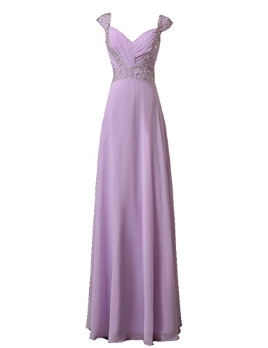 Sarahbridal Long Prom Dresses Chiffon Bridesmaid Dress Ball Party for...