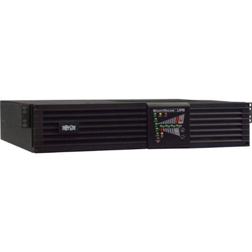 (Tripp Lite SmartOnline 120V 3kVA 2.7kW On-Line Double-Conversion UPS, 2U Rack/Tower, Extended Run, Network Card Option, ENERGY STAR (SU3000RTXL2U))