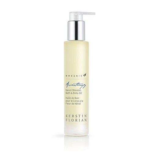 Kerstin Florian Organic Neroli Blossom Bath & Body Oil, Moisturize Skin with Coconut and Jojoba Oils 100ml/3.4 fl oz ()