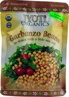 Jyoti Organics Garbanzo Beans -- 10 oz by Jyoti