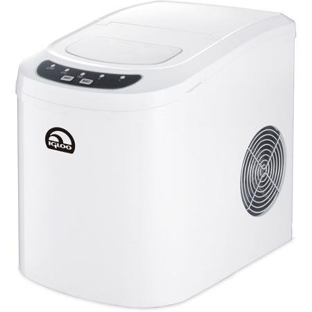 Igloo Portable Countertop Ice Maker, (White Compact Ice Maker)