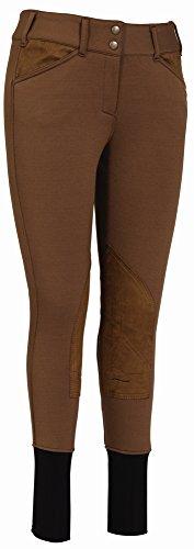 - TuffRider Ladies Unifleece Front Zip Breeches