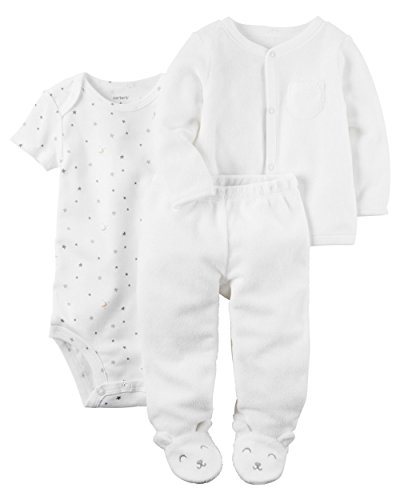 - Carter's Baby 3-Piece Cardigan and Pant Set 3 Months