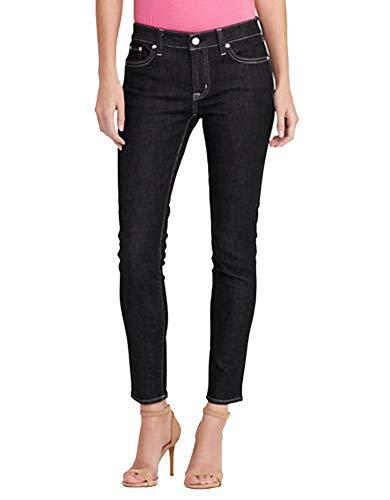 (Lauren Ralph Lauren Petite Stretch Jeans (Asphalt,)