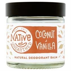 Native Unearthed Natural Deodorant, Coconut/Vanilla, 60 ml
