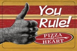 Pizza My Heart Gift Card - Stores Emeryville