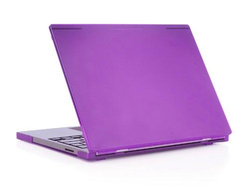 "iPearl mCover Hard Shell Case for 12.85"" Google Chromebook Pixel (WiFi or LTE model, original model released before 2015) laptops (Purple)"