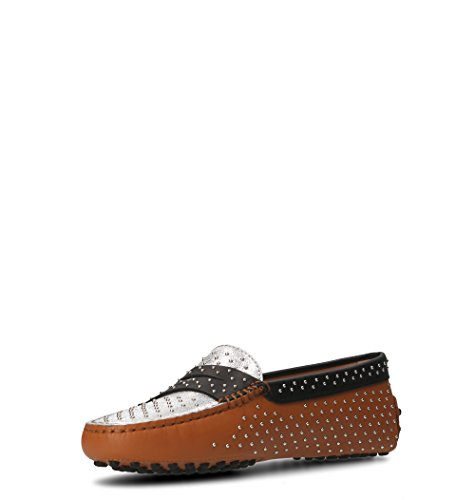 Leather XXW00G0X360IOM0YZB Tod's Women's Brown Loafers v6ww0a5