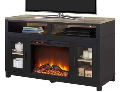 Surprising Amazon Com Tv Stand With Fireplace Space Heaters For Indoor Interior Design Ideas Ghosoteloinfo