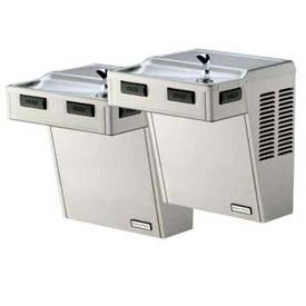 Halsey Taylor HAC-8FS-BLR-Q ADA-SS Approved Bi-Level Reverse Barrier-Free Water Cooler, Stainless Steel