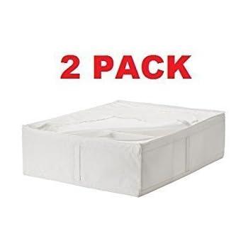 Amazon Com Ikea Storage Underbed Box Closet Zippered 2