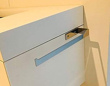portasciugamani cucina da parete Barra di tovagliolo Porta Asciugamani mobile bagno accacio inox galeara design Destro