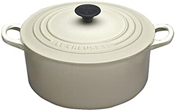 Le Creuset Enameled Cast-Iron 9-Quart Round French Oven, Dune