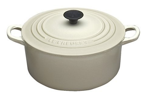(Le Creuset Enameled Cast-Iron 9-Quart Round French Oven, Dune )