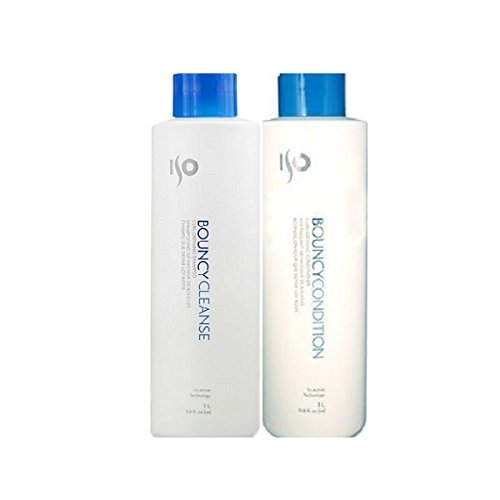 ISO - BOUNCY Curl-Defining Shampoo 33.8oz & Conditioner 33.8oz ()